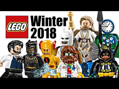 Top 20 Most Wanted LEGO Sets of Winter 2018!