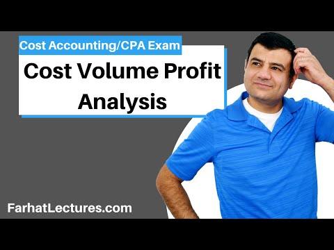 Cost Volume Profit Analysis | Cost Accounting | CPA Exam BEC | CMA Exam