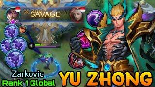 Download Yu Zhong Perfect SAVAGE!! - Top 1 Global Yu Zhong Zarkovic - Mobile Legends: Bang Bang