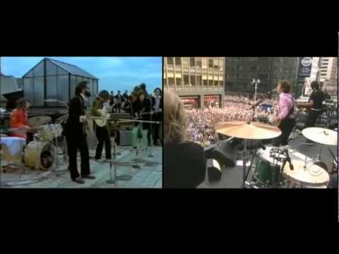 Paul meets Paul - Get Back in the Time Machine. Paul McCartney´1969 meets Paul McCartney´2009.