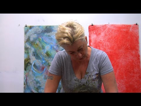 GINA STEPANIUK : THE NATURE OF PAINTING NATURE