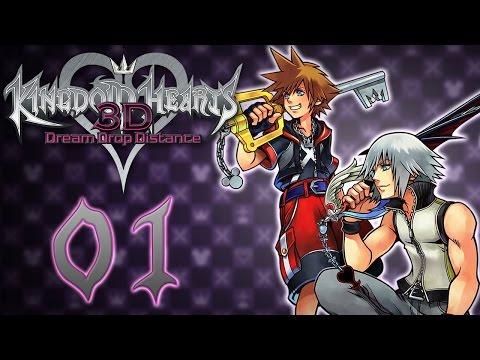 Let's Play Kingdom Hearts Dream Drop Distance HD (KH 2.8 PS4) #1 L'Examen Commence !