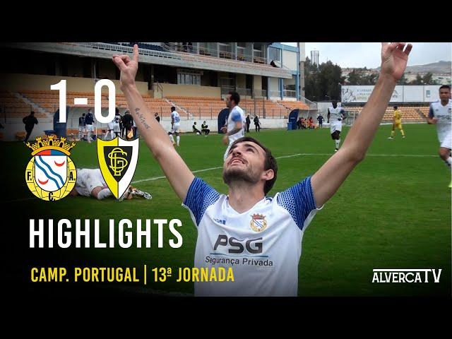 FC Alverca 1-0 GS Loures Highlights