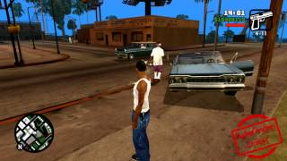 TeamXPG Grand Theft Auto GTA San Andreas HD Remastered Gameplay Trainer +4 Xbox 360 Mods