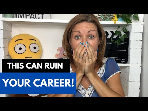 THIS CAN RUIN YOUR ACTING CAREER - How to become a successful Actor
