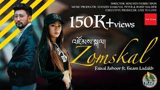 ZOMSKAL | New Ladakhi Song | Faisal Ashoor Ft.Team Ladakh | Rhythm of the Heart | Official MV