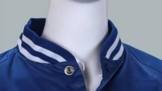 Unisex Nylon Bomber Baseball Jacket - Bridal Party Tees