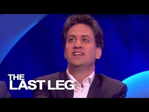 Ed Miliband Talks About Brother David - The Last Leg