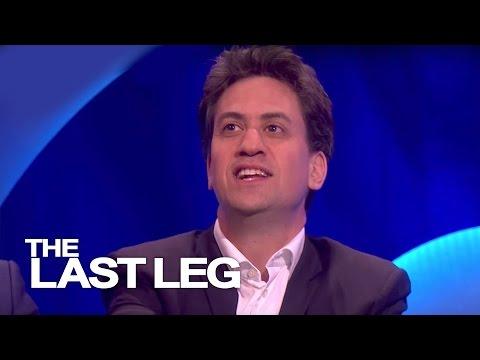 Ed Miliband Talks About Brother David - The Last Leg