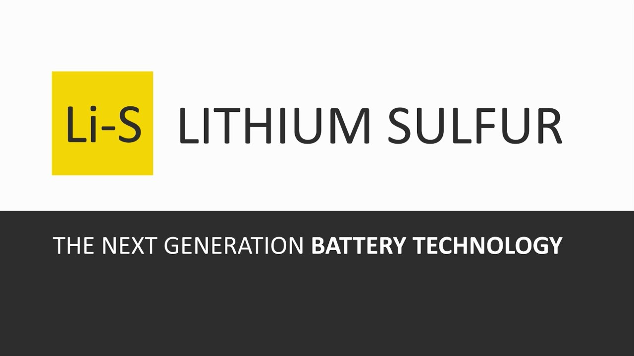 Lithium Sulfur Development at OXIS