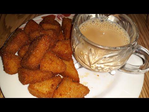 Crispy & Spicy Bread Snack Recipe   Quick And Easy Snack Recipe   Tea Time Snack Recipe