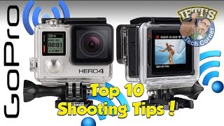 Top 10 Shooting Tips for Filming with a GoPro - GUIDE