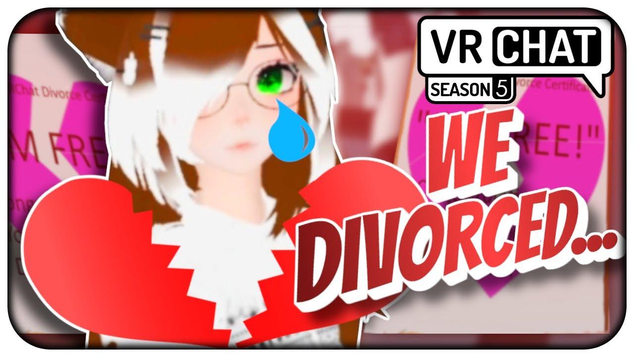 [VRChat] S5;Part 8 - I was forced to divorce Meg... VRChat Funny Moment! - VRCHAT