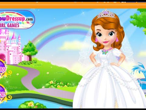 Trò chơi trang điểm cho Công chúa Sofia trở thành cô dâu xinh đẹp nhất