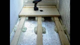 Утепление лоджии пеноплексом своими руками - технология работ, потолка, стен, пола, видео-инструкция