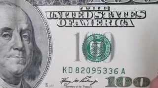 100 $ американских долларов США, $ 100 US dollars 19.02.2015(сто долларов, доллары сша, 100 долларов, доллар гривна курс, 100 US dollars, курс гривна доллар, курс межбанк, курс..., 2015-02-19T19:29:12.000Z)