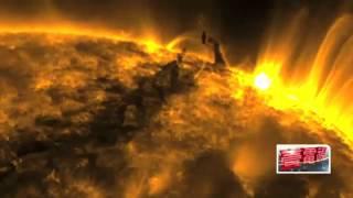 NASA公布最新影片太陽風暴      壹電視 2013 06 12