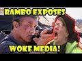 Woke Media slams Rambo Last Blood on Rotten Tomatoes for racism and misogyny! Go see Rambo!