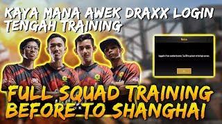 Kaya Mana Awek Draxx Login Tengah Training! Full Squad Yoodo Gank PUBG Mobile Malaysia