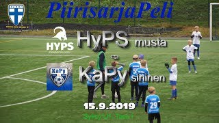 Piirisarja P10 HyPS Musta vs KaPy Sininen 15.9.2019