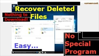 How to Restore or Recover Permanently Deleted Files from Recycle Bin