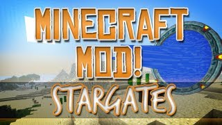 Minecraft Mod! Stargates & Wormholes! (Greg's SG Craft)