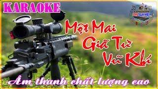 Karaoke vip - Giã Từ Vũ Khí (Tone Nam) beat hay nhất