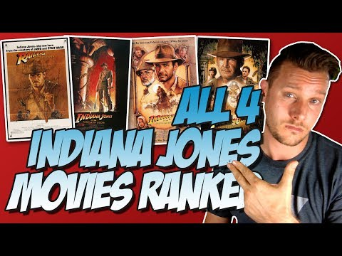All 4 Indiana Jones Movies Ranked From Worst to Best