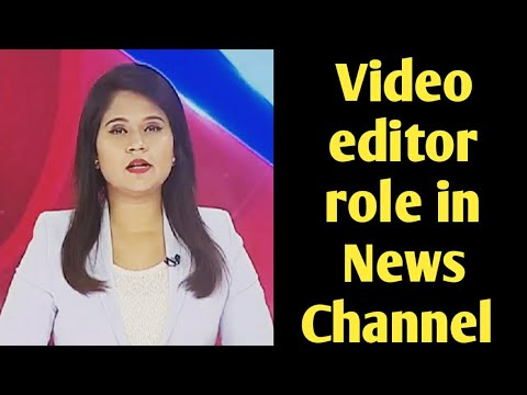 Video Editor Job In News Channel |Software