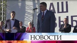 Леонид Пасечник объявил о намерении участвовать в выборах главы самопровозглашенной ЛНР.
