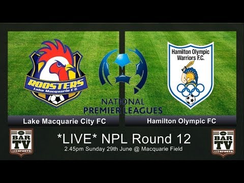 NPL Round 12 'Feature Match' Lake Macquarie City FC v Hamilton Olympic FC
