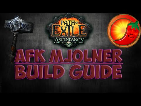 Path of Exile [2.3]: AFK Mjolner Build Guide