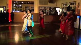 American Wedding - Bollywood Dance by Bride and Groom