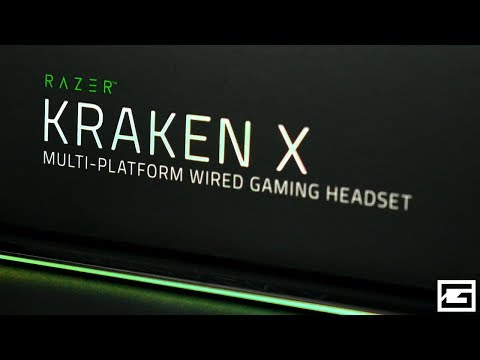 First Look At Razer's NEW $50 Gaming Headset! : Razer Kraken X