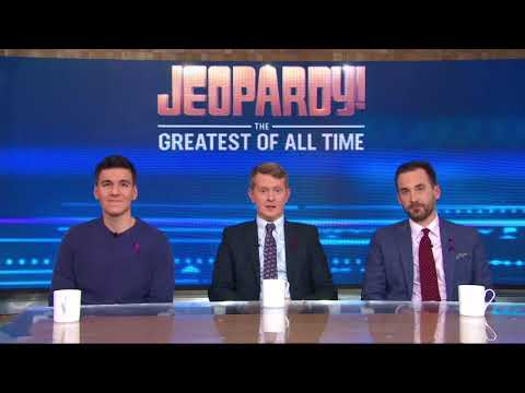 Gary Cee - 'Jeopardy! The Greatest of all Time' starts tonight
