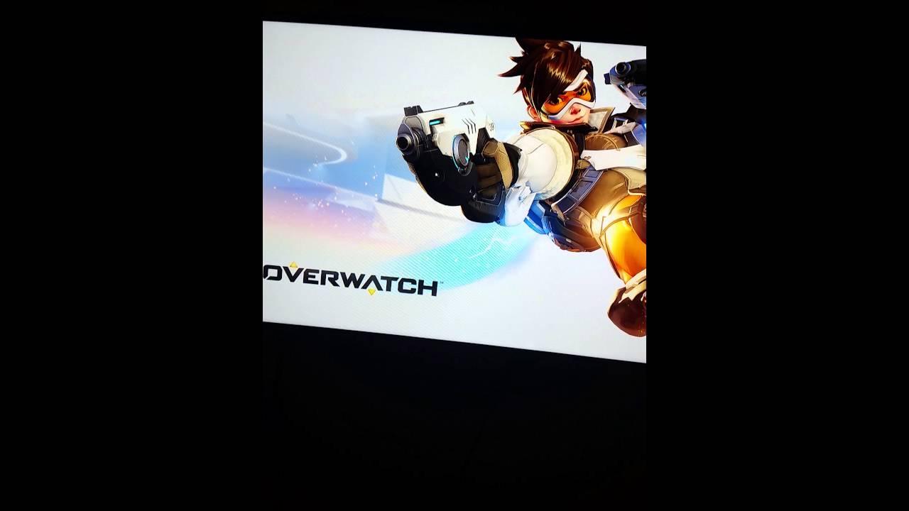 Overwatch xbox one Black screen fix