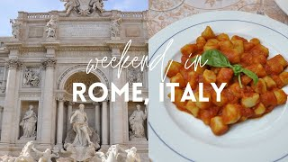 Weekend in Rome & Tiramisu Class | Italy Vlog