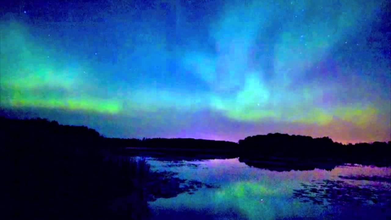 northern lights aurora borealis time lapse minnesota august 2011 mov