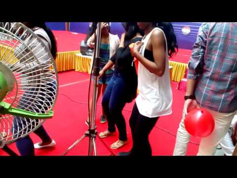 The Cheering African Girls Dancing At Manipal University on International Students day