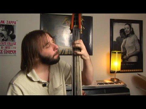 Upright Bass Swing Lessons: Eb Major : Upright Bass Bb Swing Walk