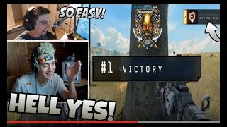 Ninja & Shroud Play Duos!! Gets Victory! - Call Of Duty Black Ops 4 Gameplay