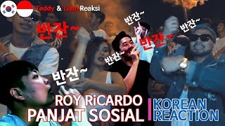 Orang Korea Reaksi ROY RiCARDO PANJAT SOSiAL FT GAGA MUHAMMAD LULA LAHFAH
