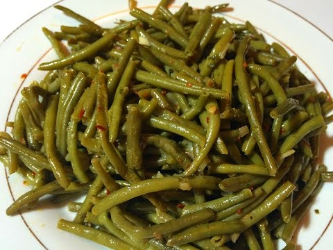 comment-faire-des-haricots-verts-/-recette-délicieuse