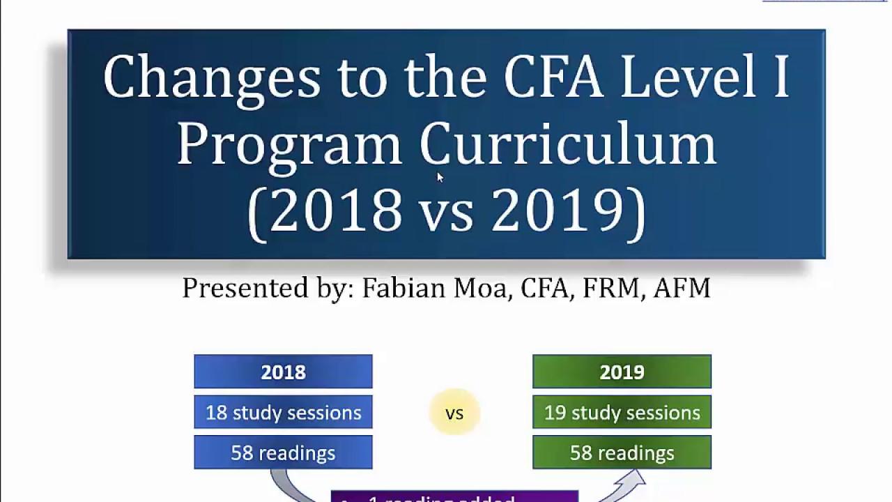 Cfa Curriculum 2015 Level 1 Pdf