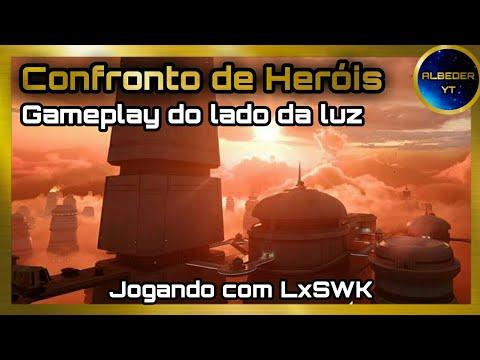 Download Gameplay Star Wars Battlefront 2 | Modo Confronto de Heróis | Jogando com membro do meu clã!