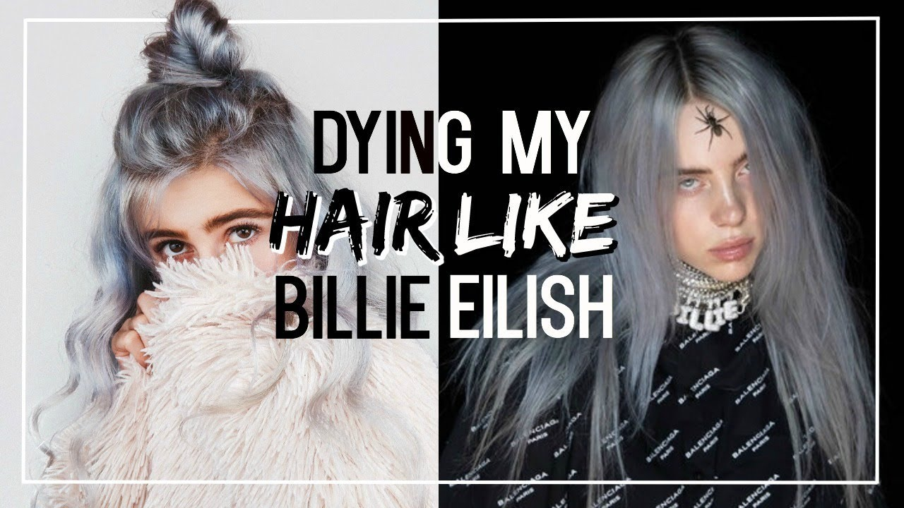 Dying My Hair Like Billie Eilish Faith Robertson Youtube
