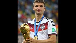 Thomas Muller goals in World cups 10 Goals