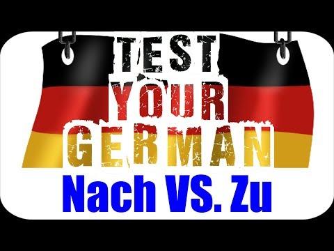 GERMAN LANGUAGE TEST (+Answers) | Nach OR Zu?! | VlogDave