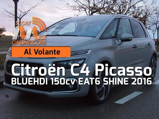 Citroën C4 Picasso 2016 / Al volante / Prueba dinámica / Review / Supermotoronline.com