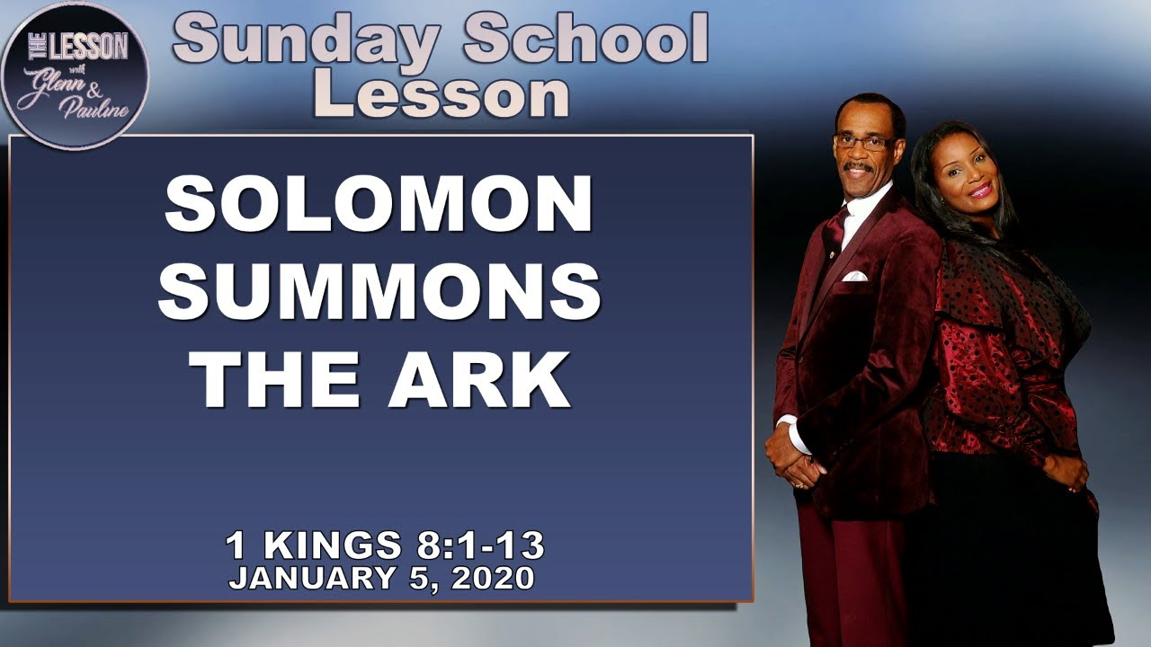 sunday school lesson january 5 2020